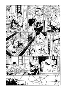 Comics sobre samuráis